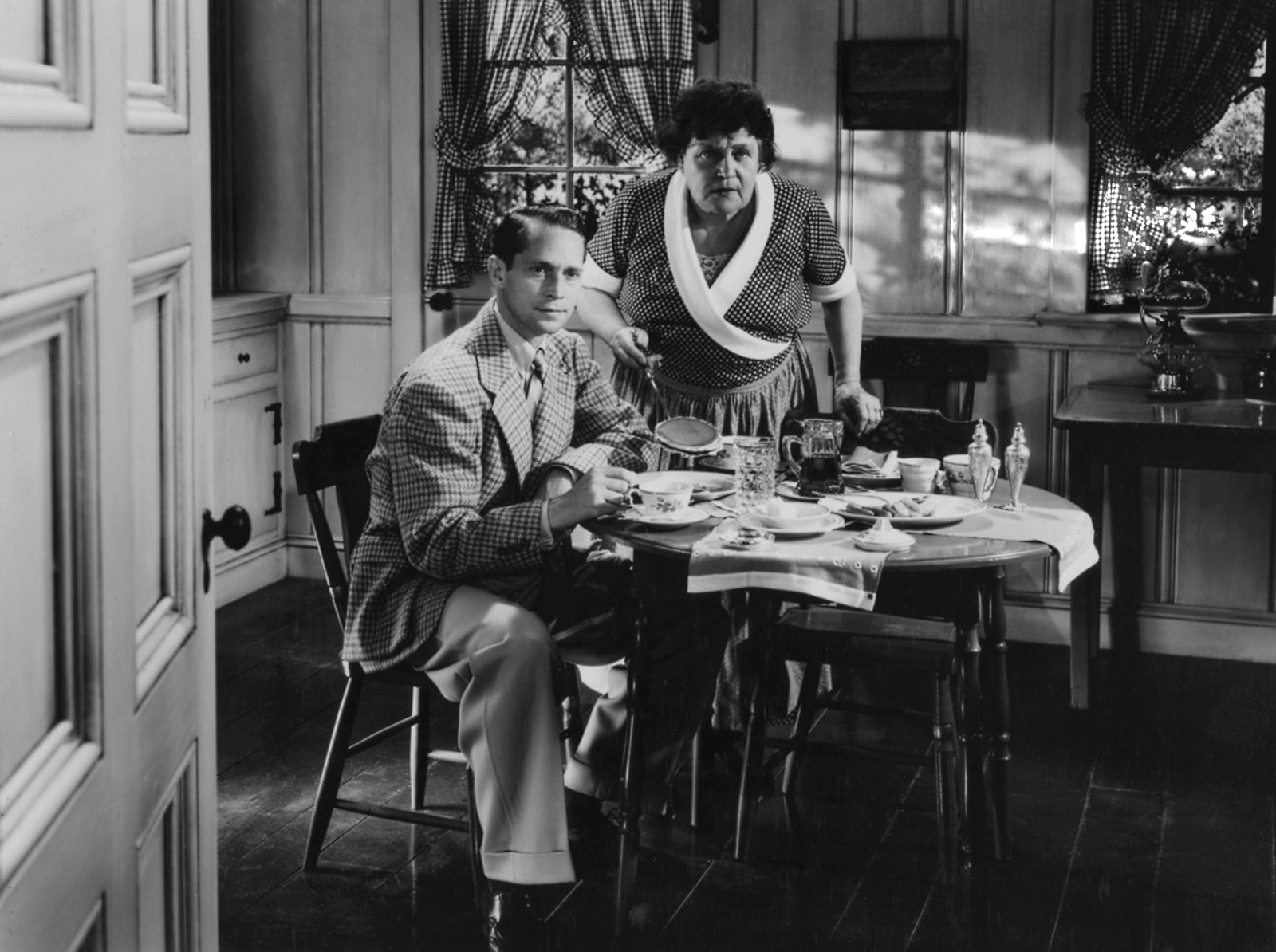 Franchot Tone  With AlisonSkipworth.