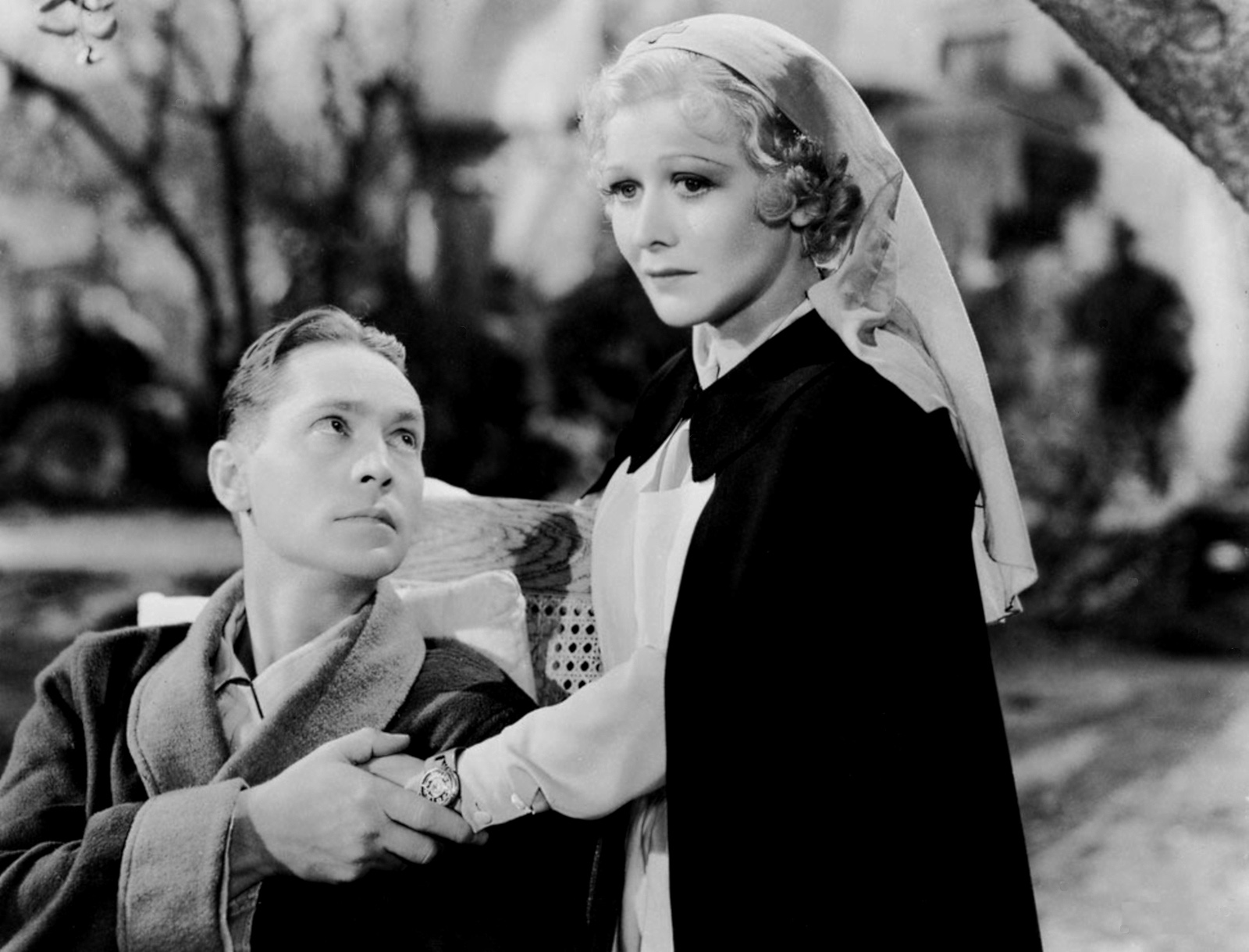 Franchot Tone with Gladys George.