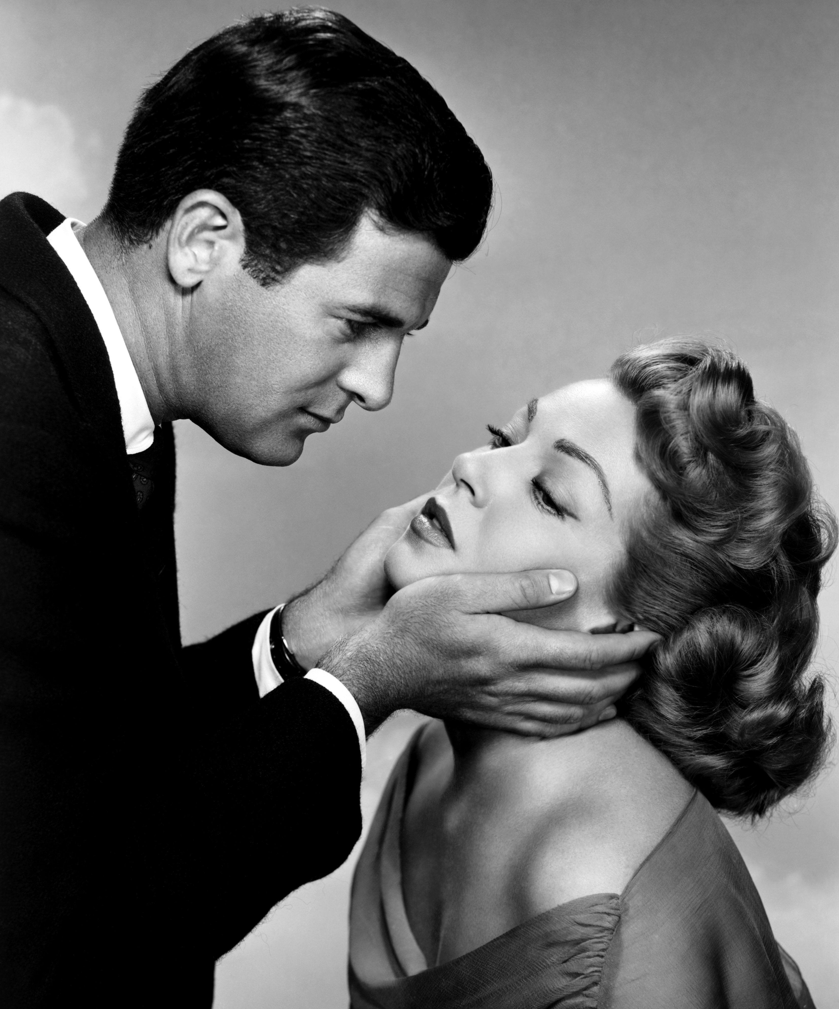 Lana Turner with  Lee Philips.