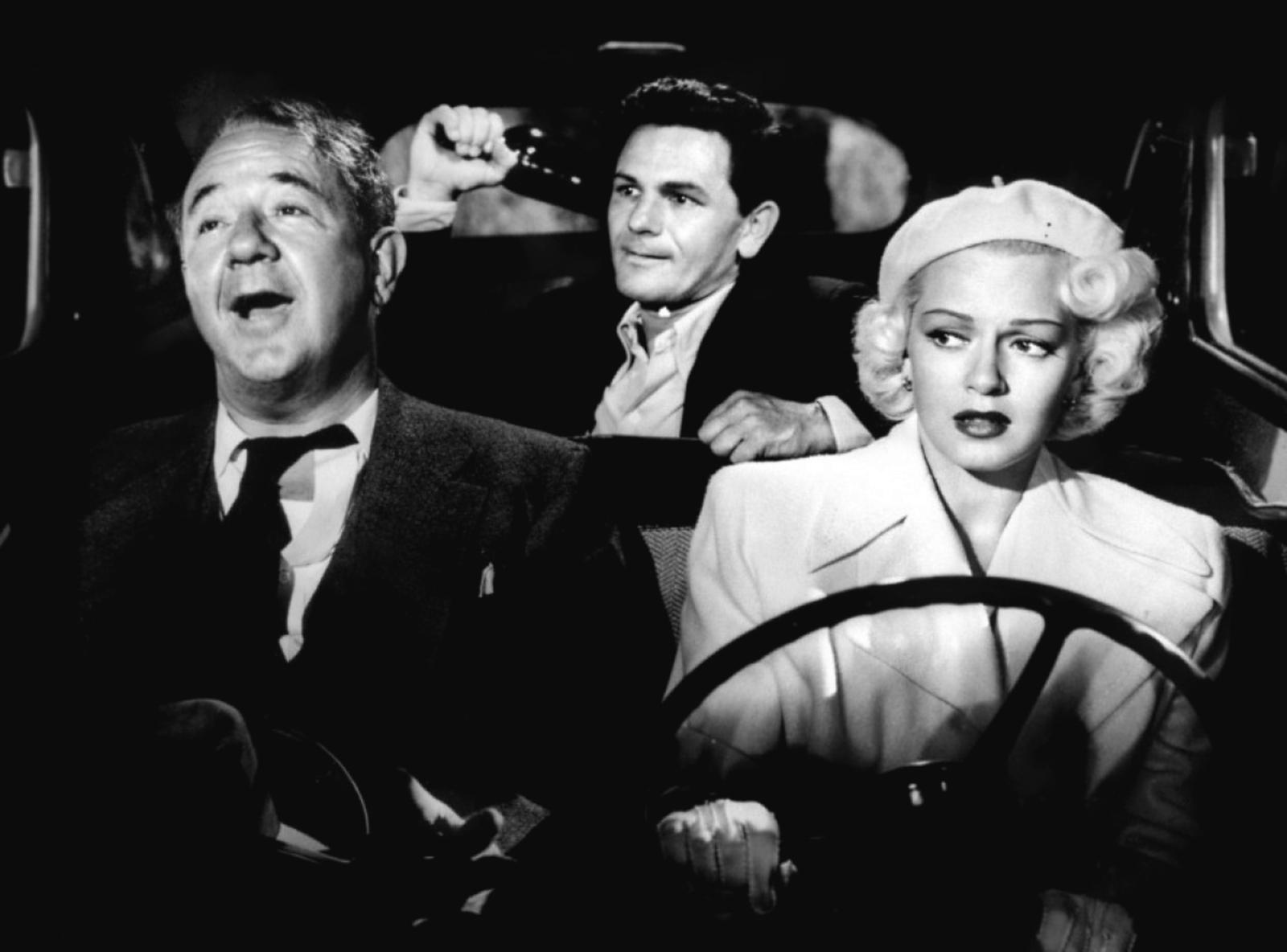 (L to R) Cecil Kellaway,John Garfield,Lana Turner.