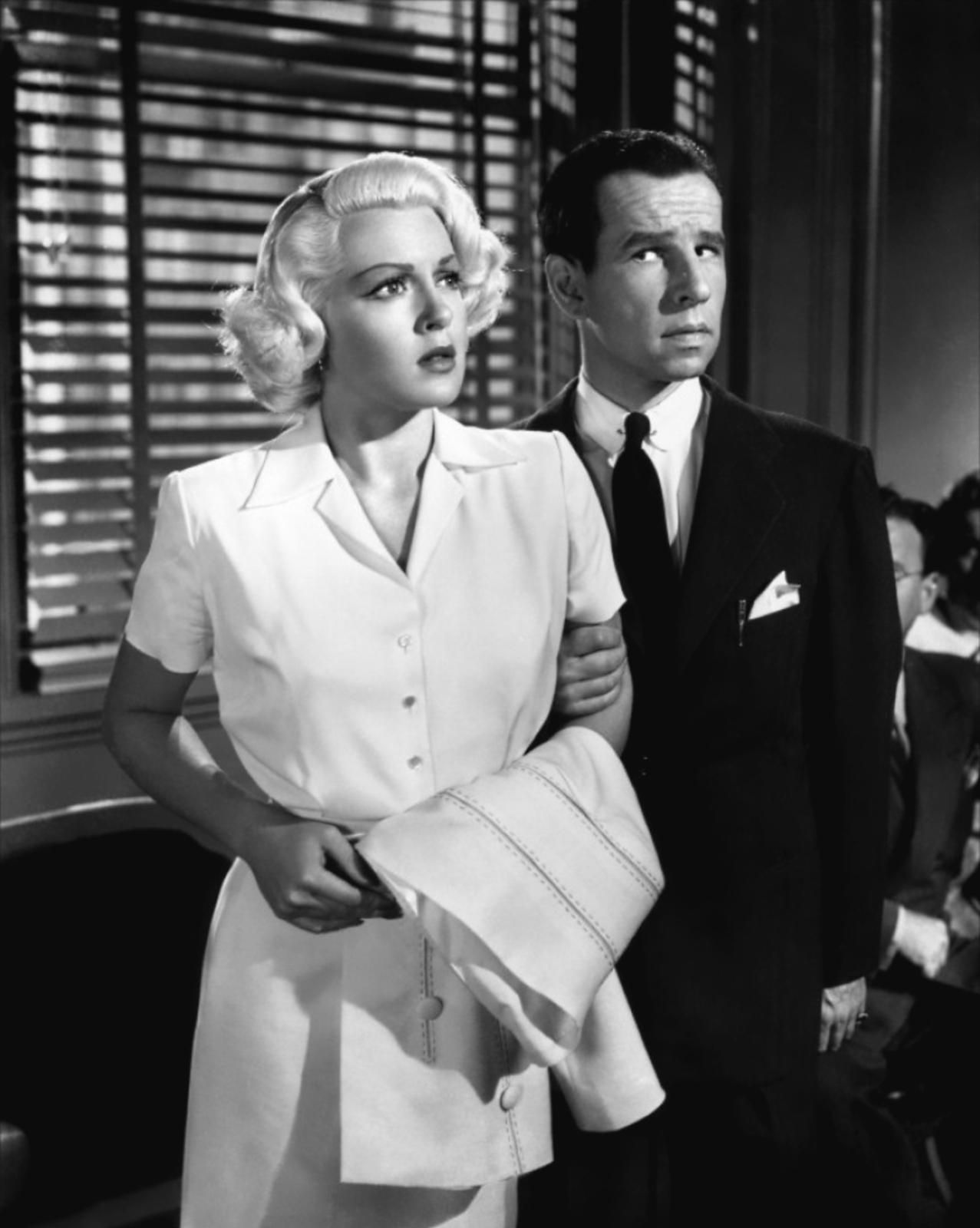Lana Turner with Hume Cronyn.