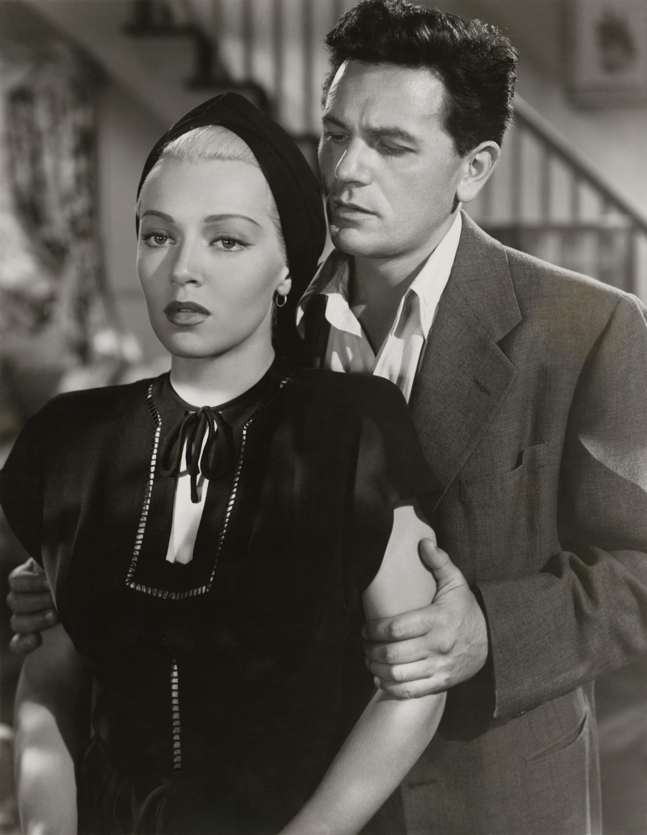 Lana Turner with John Garfield.