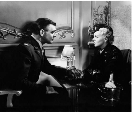 Clark Gable and Lana Turner