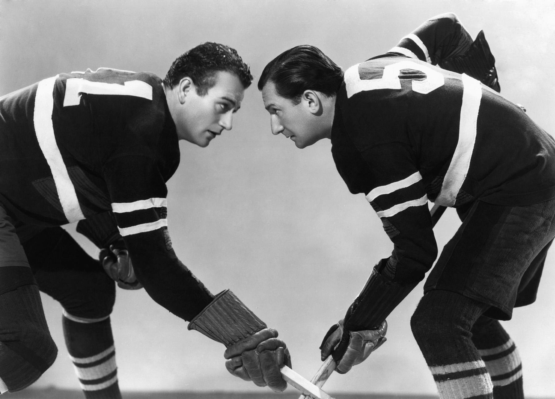 John Wayne with  Billy Burrud (R)