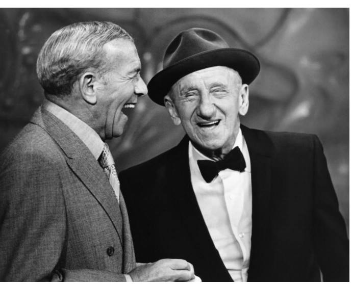 George Burns and Jimmy Durante