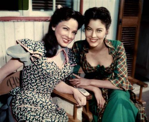 Kathryn Grayson and Ava Gardner in Show Boat