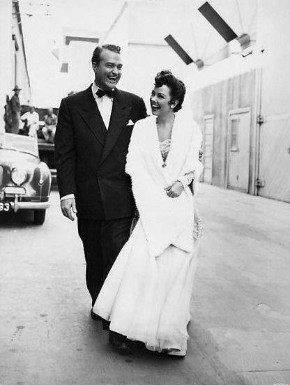 Kathryn Grayson and Red Skelton