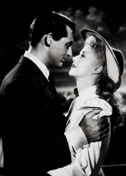 Cary Grant e Ginger Rogers