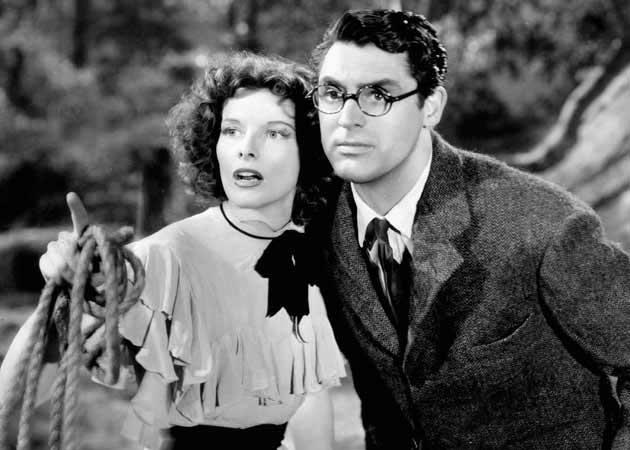 Cary Grant e Katharine Hepburn
