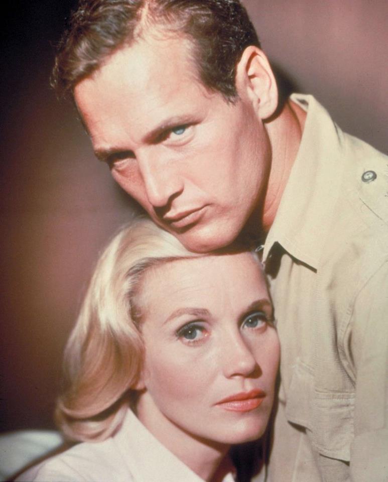 PAUL NEWMAN & EVA MARIE SAINT