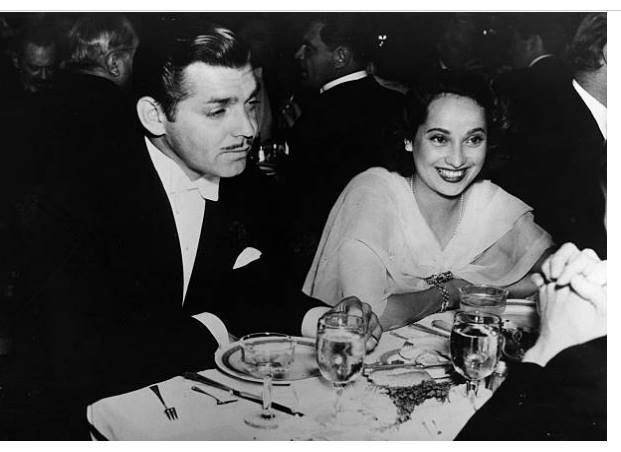 Clark Gable and Merle Oberon