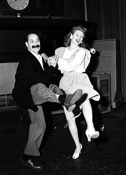 Lucy and Groucho