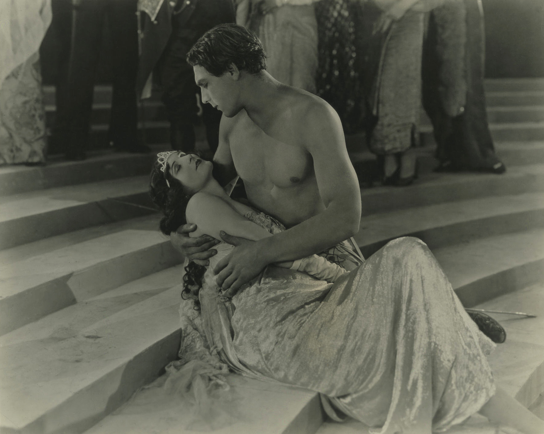 Dolores Costello with George O'Brien