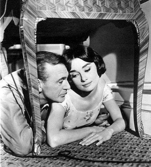 GARY COOPER & AUDREY HEPBURN