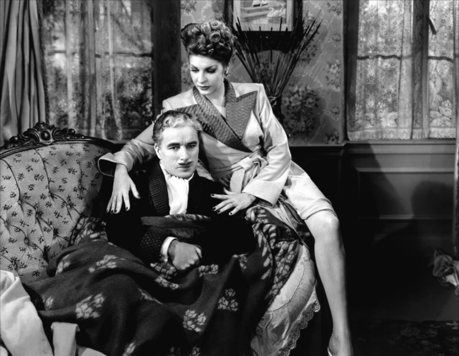 Charlie Chaplin with Martha Raye
