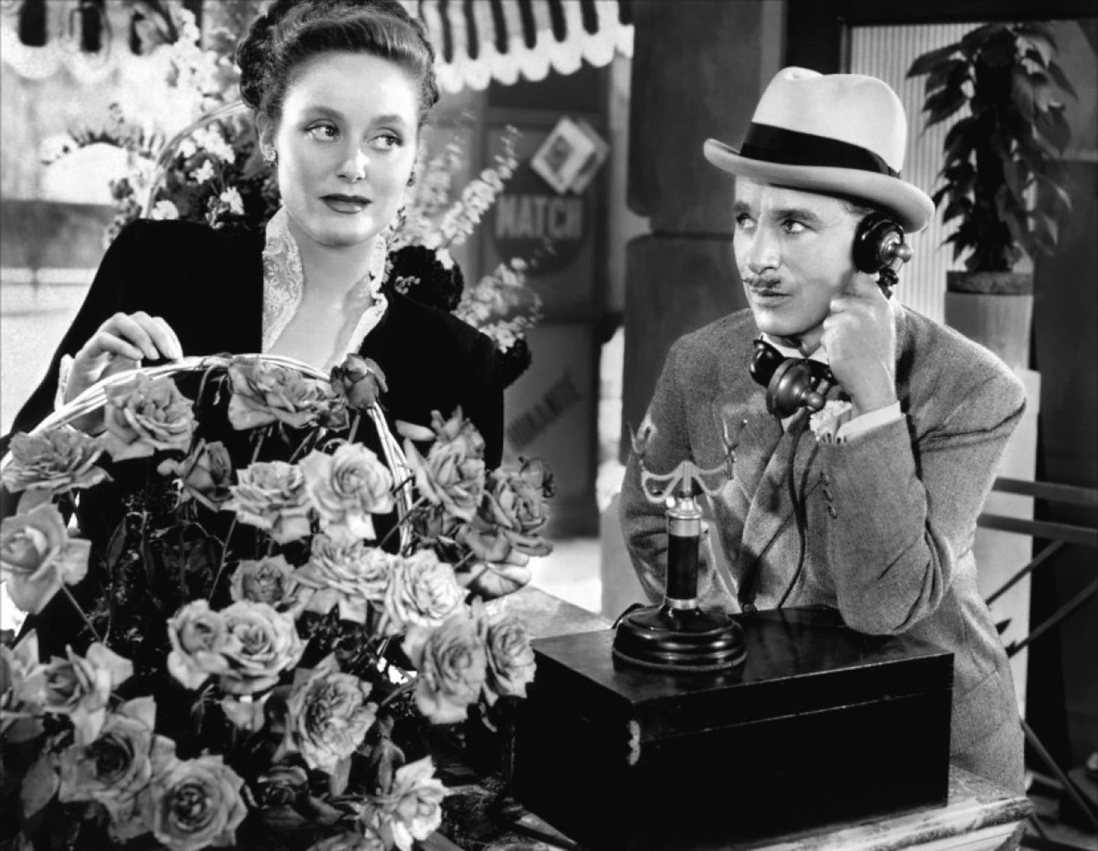 Charlie Chaplin with Barbara Slate