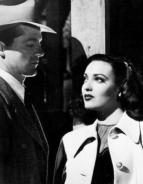 Dana Andrews & Linda Darnell -Fallen Angel (1945)