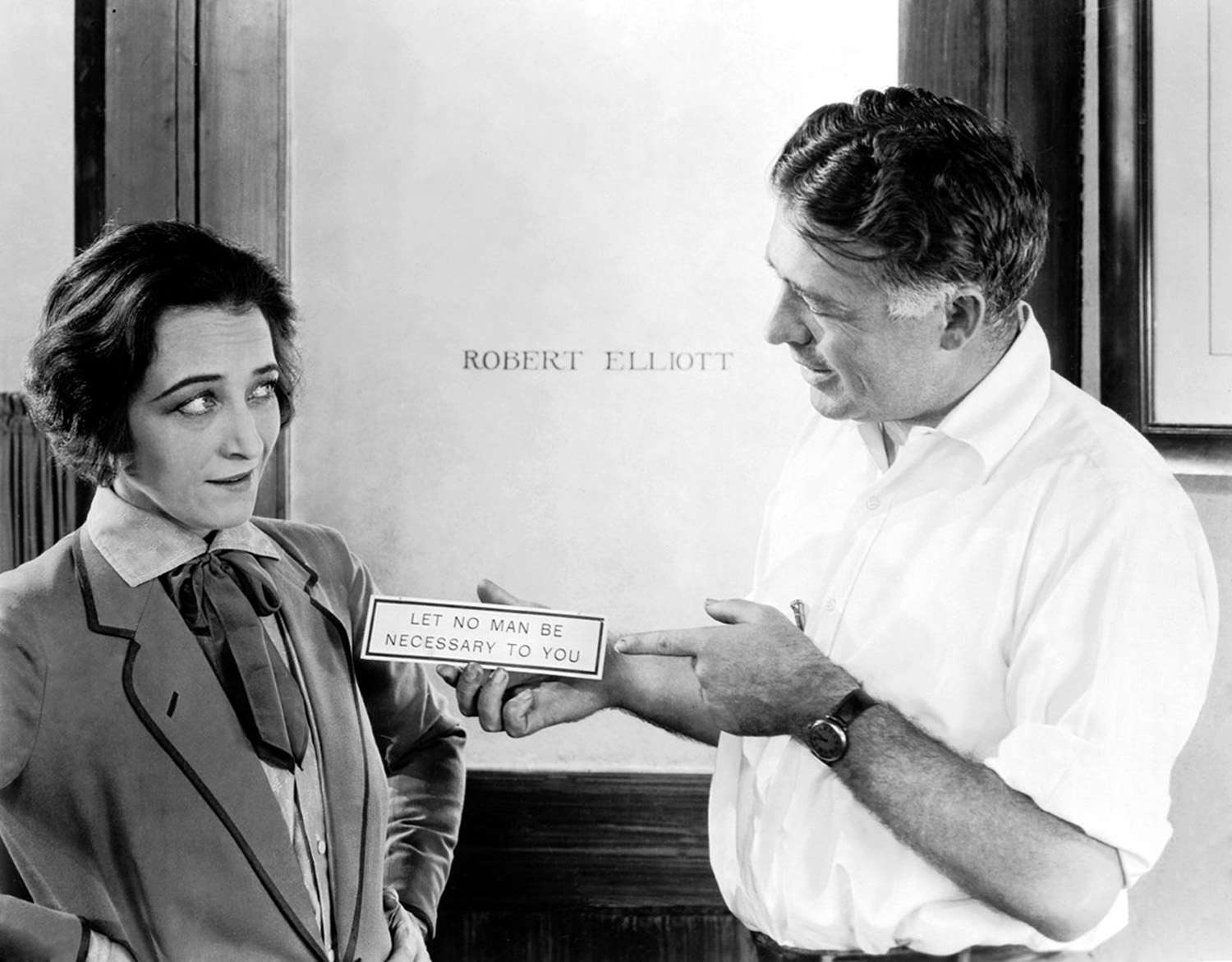 Pauline Frederick with Clarence Brown