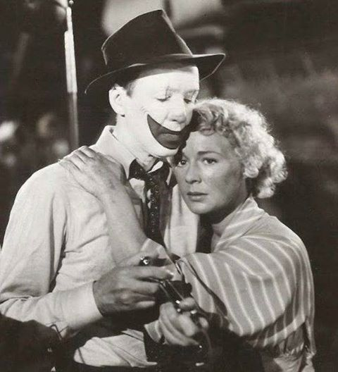 James Stewart & Betty Hutton in The Greatest Show on Earth
