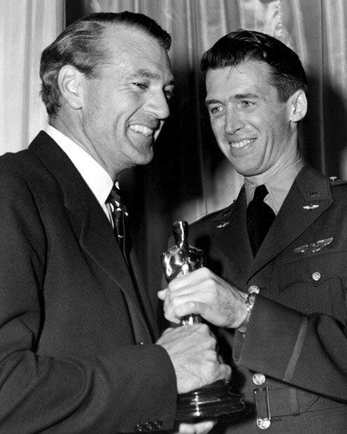 Gary Cooper & James Stewart
