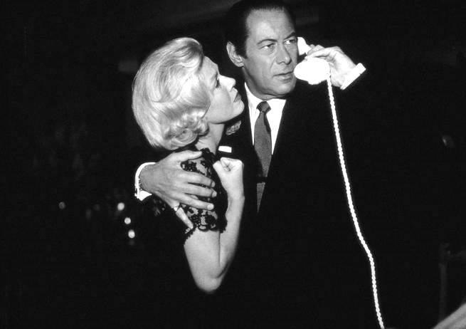 Rex Harrison e Doris Day
