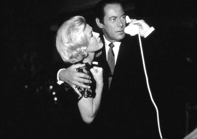 Rex Harrison e Doris Day