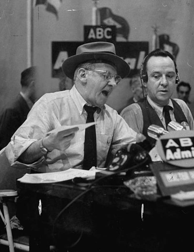 Walter Winchell joins John Daly for 1952 election coverage.