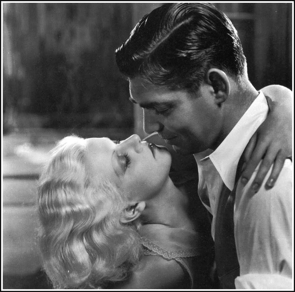 Clark Gable e Jean Harlow