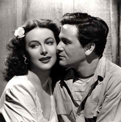 John Garfield & Hedy Lamarr