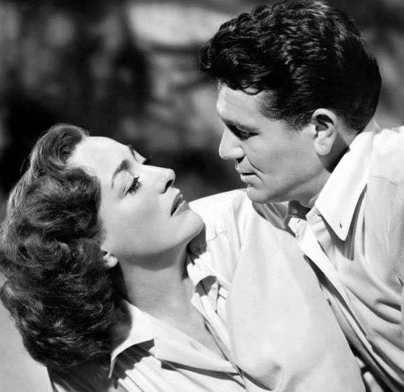JOHN GARFIELD & JOAN CRAWFORD