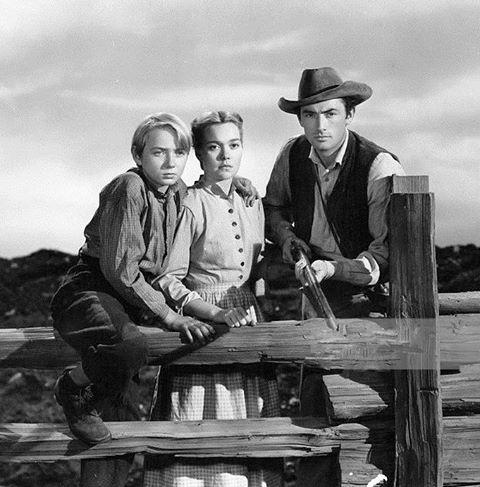 CLAUDE JARMAN Jr., JANE WYMAN & GREGORY PECK