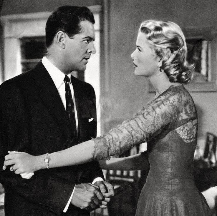 Robert Cummings & Grace Kelly