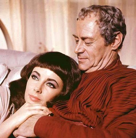 Rex Harrison & Elizabeth Taylor