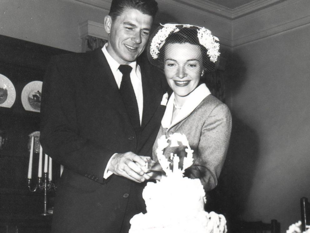 Ronald Reagan & Nancy Davis