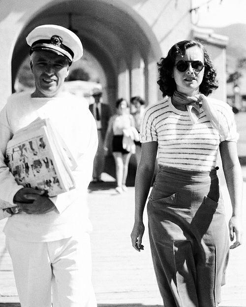 Charlie Chaplin & Paulette Goddard
