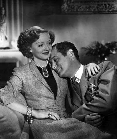 Bette Davis & Robert Montgomery