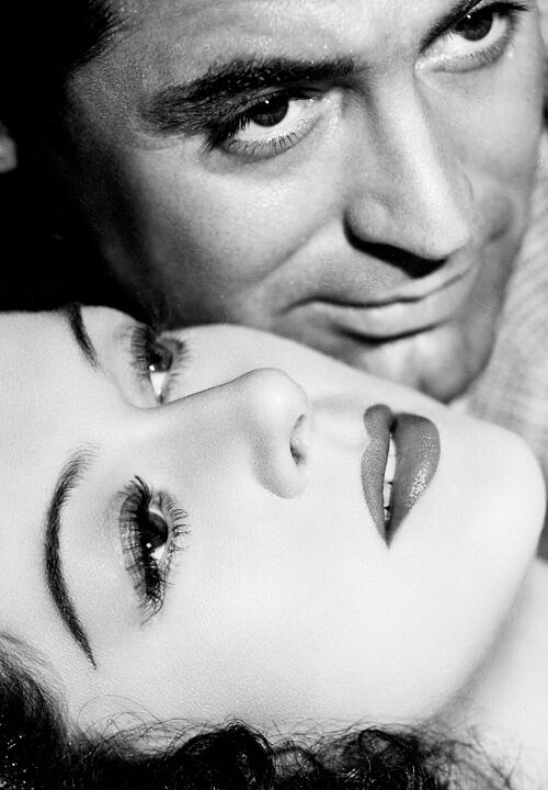 Rosalind russell & Cary Grant