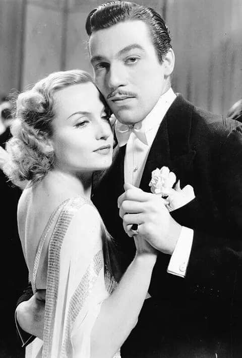 Carole Lombard & Cesar Romero
