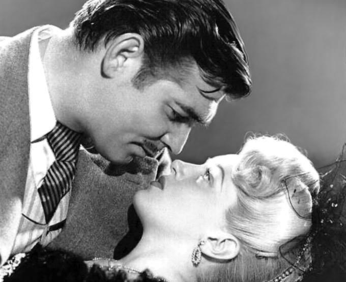 Clark Gable e Lana Turner