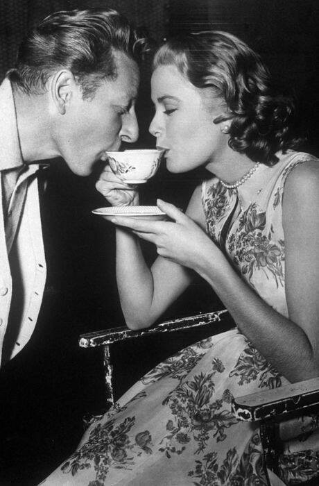 Grace Kelly with Danny Kaye