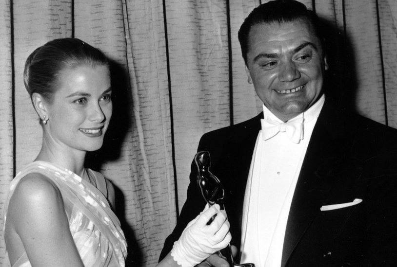 Grace Kelly and Ernest Borgnine
