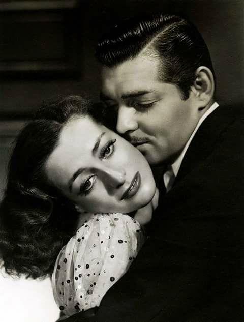 Joan Crawford & Clark Gable