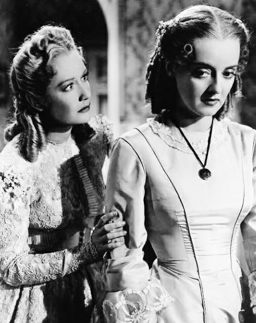 Miriam Hopkins & Bette Davis
