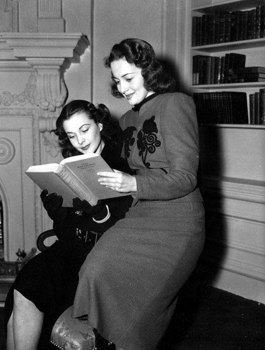 Vivien Leigh & Olivia de Havilland