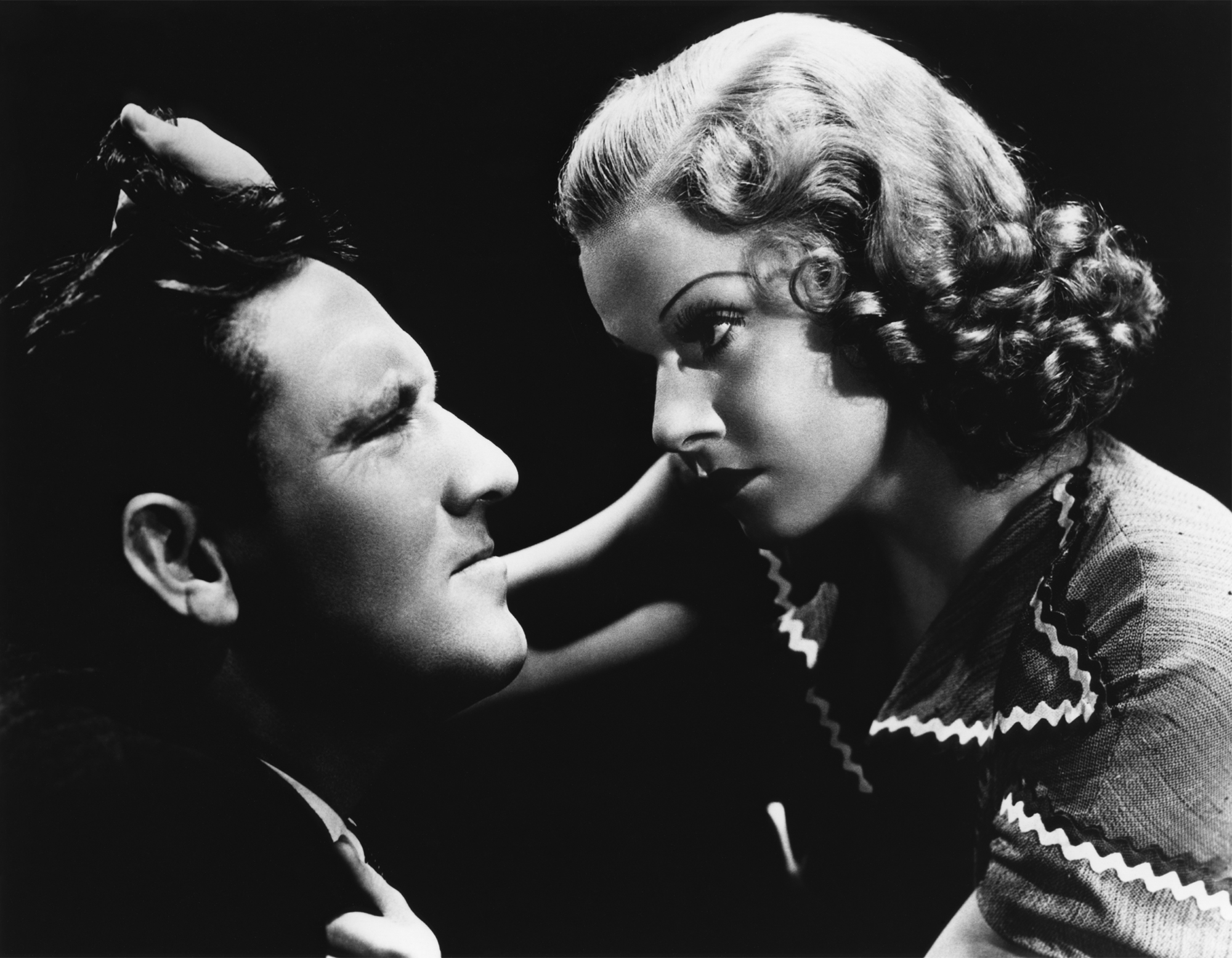 Spencer Tracy with Jean Harlow