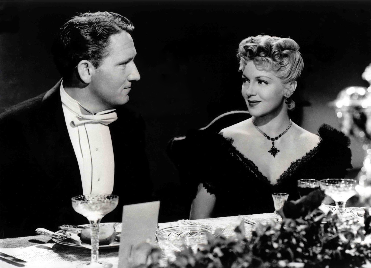 Spencer Tracy with Lana Turner