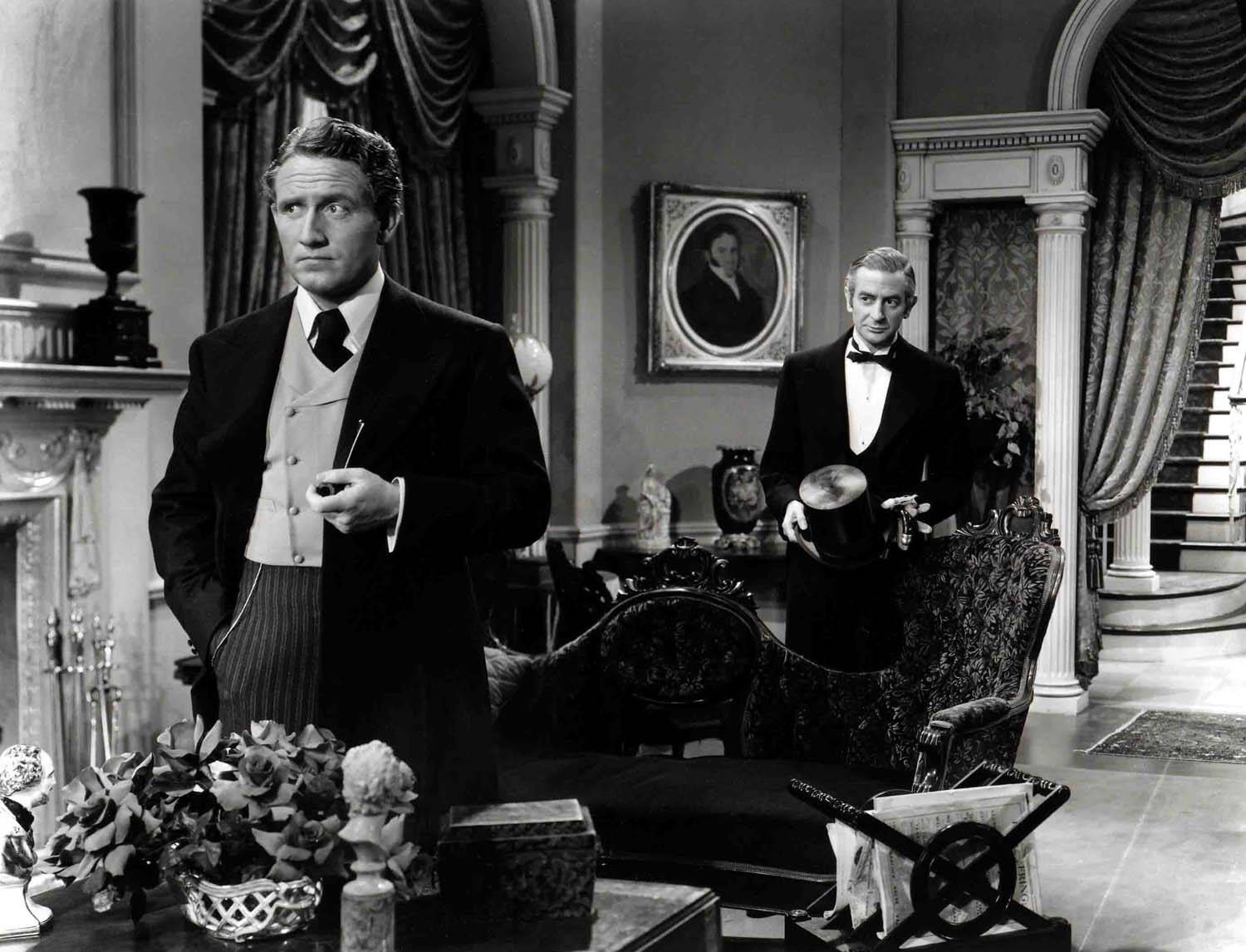 Spencer Tracy with Peter Godfrey (R)