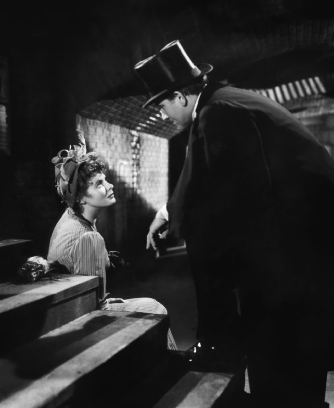 Spencer Tracy with  Ingrid Bergman