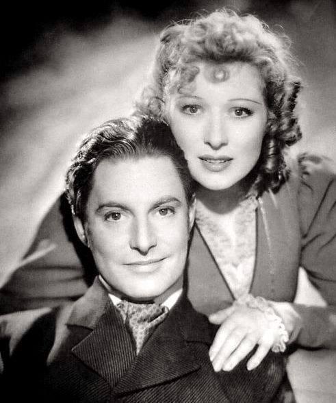 Robert Donat & Greer Garson
