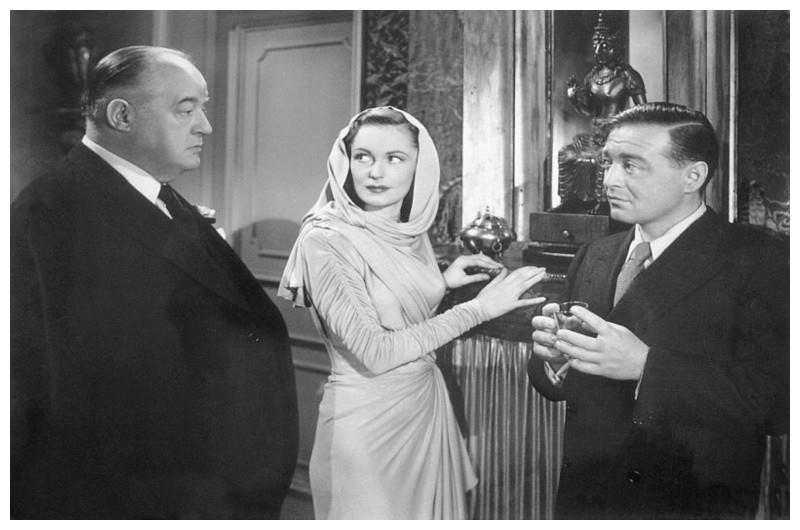 Three Strangers, starring Sydney Greenstreet, Geraldine Fitzgerald & Peter Lorre